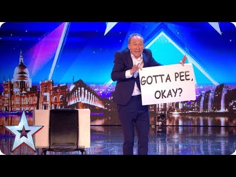Xxx Mp4 Tonight's The Night For HILARIOUS Variety Act Ben Langley Auditions BGT 2018 3gp Sex