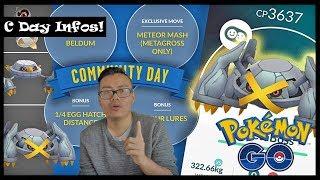 Morgen ist TANHEL C Day! Infos zum Community Day! Pokemon Go!