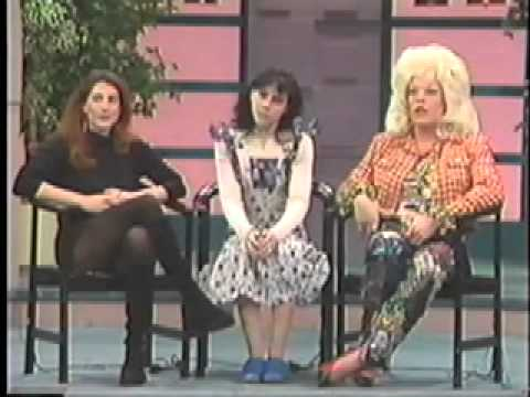 Drag Queens Lie on 90s TV Talk Show Part 1
