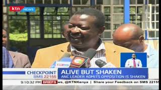 Mudavadi: Opposition is shaken but still alive