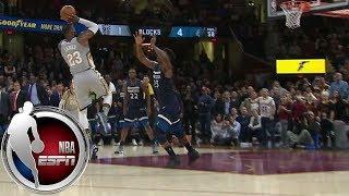 LeBron James wins game with ridiculous block- and buzzer-beater combo vs. Timberwolves   ESPN