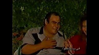 سيد  زيان في أستضافة جمهور نادي الزمالك مع إنه أهلاوي صميم  أكثر من رائع