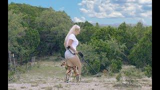 Diggin Britt & Dixie the Deer Metal Detecting for Treasure