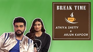 Break Time - Arjun Kapoor Comfortably Defeats Athiya Shetty In An Edgy Quiz