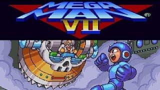 SNES Mega Man 7 Secret The Super Adapter