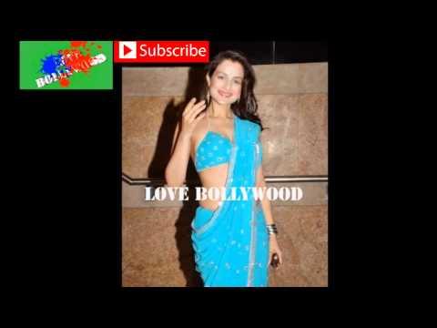 Xxx Mp4 Amisha Patel Hot In Blue Saree HD 3gp Sex