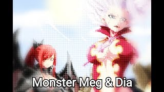 Fairy Tail AMV - Monster Meg & Dia Remix
