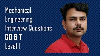GD&T-Mechanical engineering Interview Questions ,Dimu's Tutorials