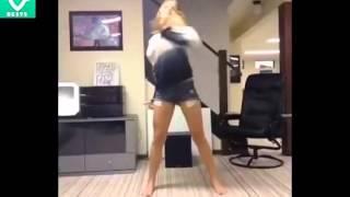 garota dança muito dubstep