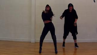 Keesha Sharp & Brad dancing to