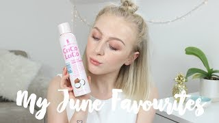 MY JUNE FAVOURITES 2017 | BEAUTY, FOOD & FASHION | EMILY ROSE