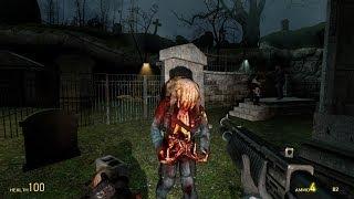 Sabrean's Headcrab Zombie Mod - Ravenholm Demonstration