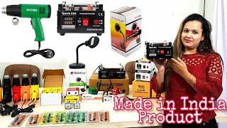 India's first LCD Separator hot gun Micro soldering iron  Factory Maxx pamma ( Jabu exim  pvt Ltd )