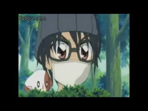 Hiroto interferes Kirari and Cloudy's kiss.