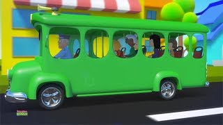 The Wheels On The Bus | Nursery Rhymes For Kids | Children Song