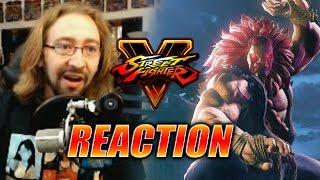 MAX REACTS: Akuma Reveal (Street Fighter 5)