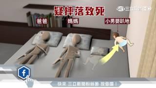 七月大男嬰摔下床 「卡」床縫窒息死|三立新聞台