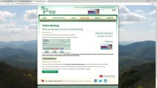 New Peoples Bank Online Banking Login Tutorial