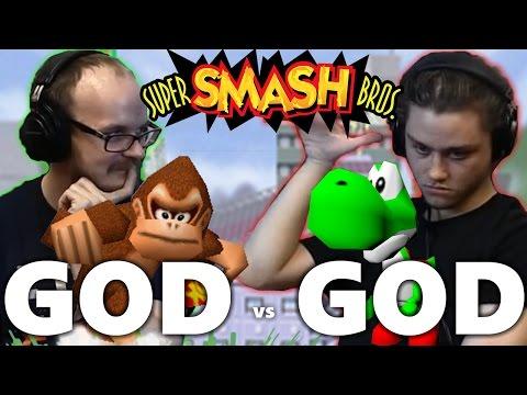 watch Melee God vs. 64 God! - Mew2King vs. Wizzrobe Smash 64