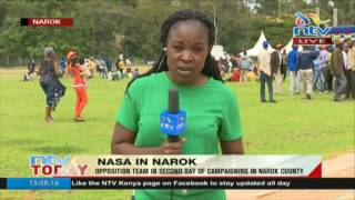 NASA in Narok: Opposition team in second day of campaigns in Narok