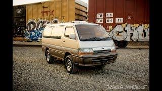 SALE REVIEW: 1992 Toyota HiAce Super Custom Limited 4wd Diesel JDM Van // by VANLIFE NORTHWEST