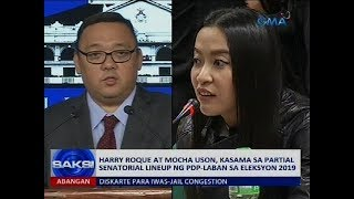 Harry Roque at Mocha Uson, kasama sa partial senatorial lineup ng PDP-Laban sa Eleksyon 2019
