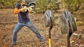 Will a Shovel Stop a Bullet???