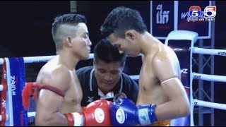 Kun khmer, Chan rathana vs kong kangvan, TV5 Cambodia 10 December 2017, Muay thai