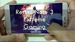Xiaomi Redmi Note 3 Pro Gaming Test! (2016)