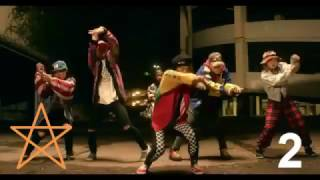 Chris Brown Top 10 Dance (Videos Officiales)