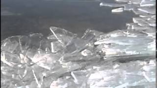 Creeping ice on Lake Superior