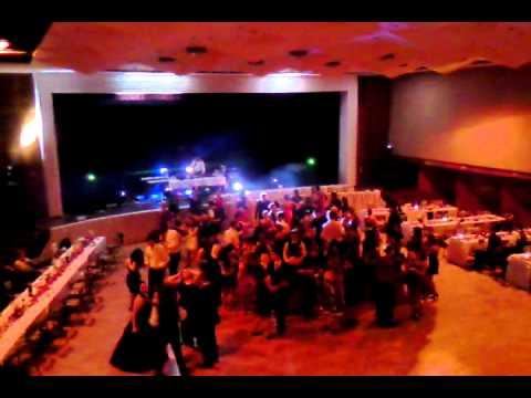 Ples Zdravotnej skoly s dj Gabom & vladee light support 2012