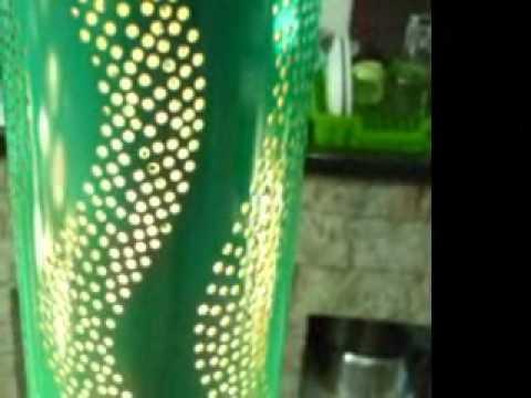 luminarias em pvc luz q brilha 2