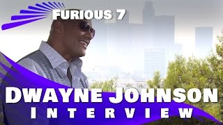 Furious 7 Interview: Dwayne Johnson (The Rock)