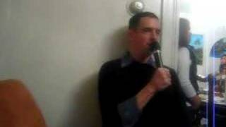 Jeff singing Britney Spear's song