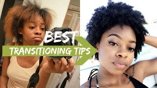 BEST Tips For Transitioning to Natural Hair