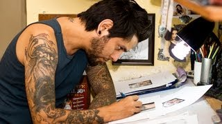 How to Practice Tattooing | Tattoo Artist