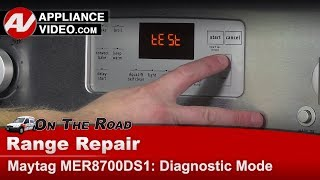 Maytag & Whirlpool -   Diagnostic & Error code mode testing - 8- steps