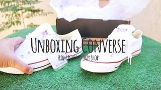 Unboxing Converse Bajas Blancas By Es_world