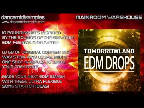 Tomorrowland EDM Drops - Epic Construction Kits!
