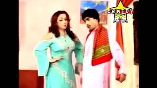 Sajan Abbas vs Zafri Khan With Hot and $exy Nida Chodhary Most Funny 2016