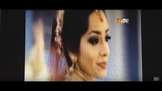 Russian TV host trying Kathak for the first time - workshop by Svetlana Tulasi & Chakkar group