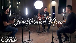 You Wanted More - Tonic (Boyce Avenue acoustic cover) on Spotify & iTunes