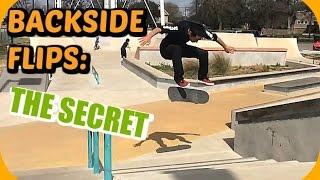 Skate Hacks: How to Backside Flip Easier