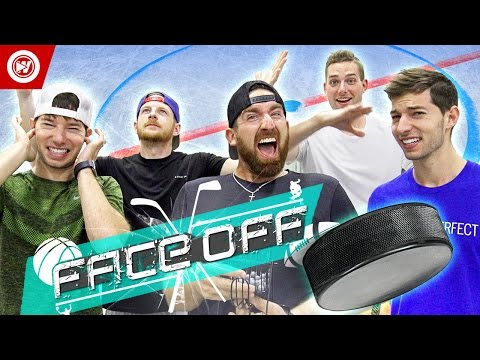 Dude Perfect Hockey Skills Challenge FACE OFF