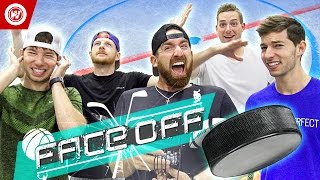 Dude Perfect Hockey Skills Challenge | FACE OFF
