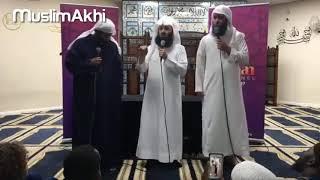 Mufti Menk Translates Sheikh Mansoor and Nayef Al Sahafi | London 2017 | Exclusive