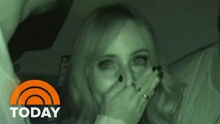 Lilliana Vazquez Freaks Out During Haunted House 'Ghost Brothers' Tour | TODAY