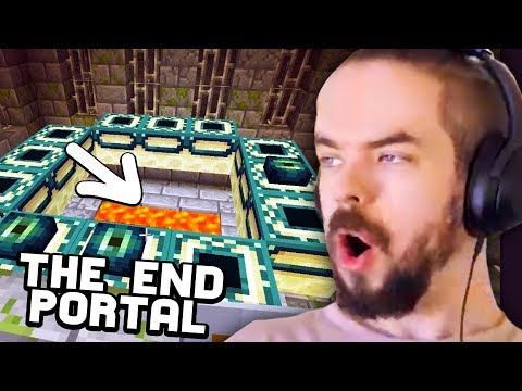 I Found The END Portal In Minecraft Part 25