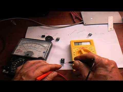 testando mosfet e dicas de eletrônica.
